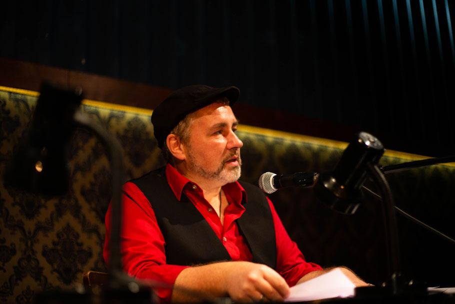 Author Martin Jankowski reading his work