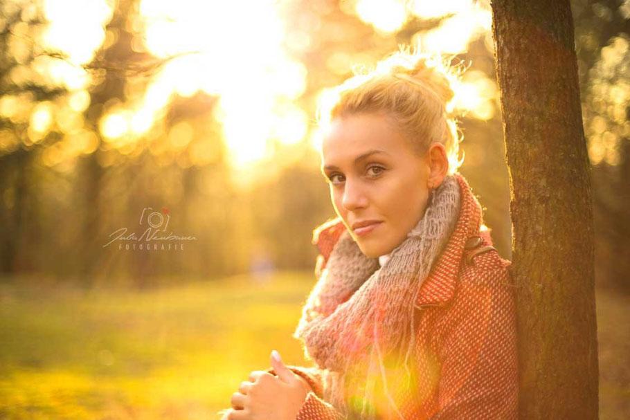 Portrait, outdoor, Gegenlicht, Julia Neubauer Fotografie