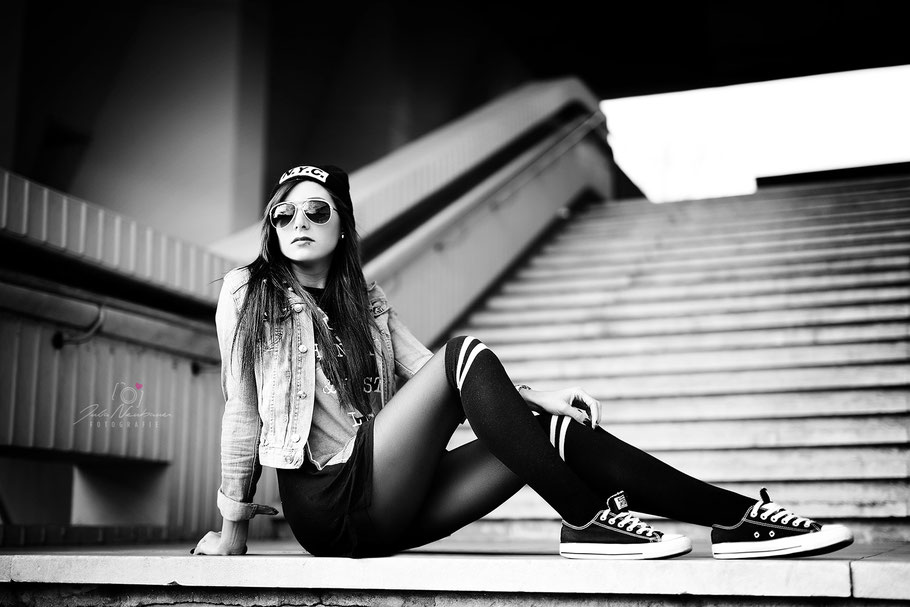Portrait, outdoor, cool, lässig, Julia Neubauer Fotografie