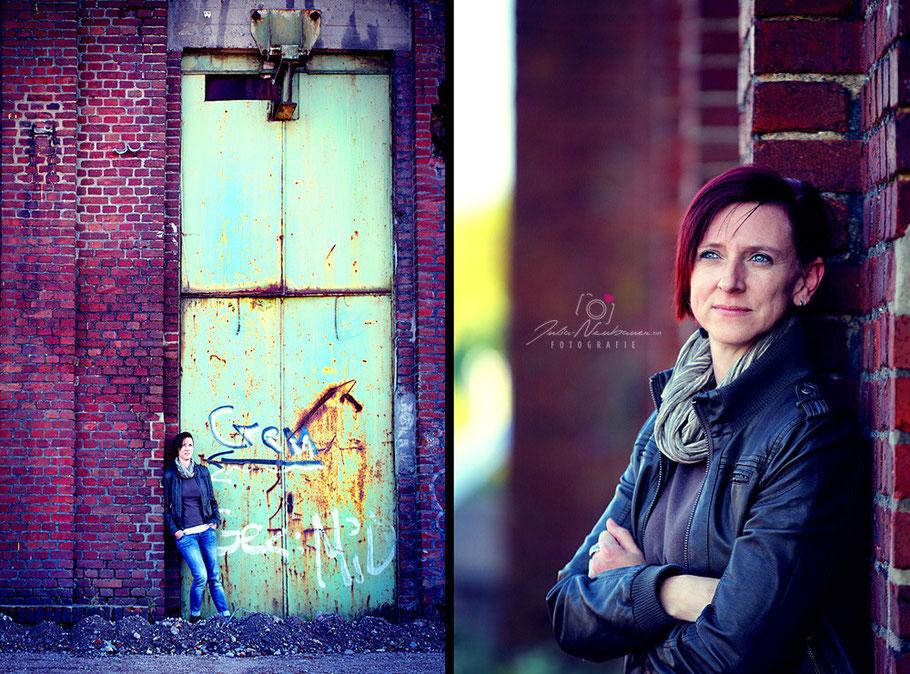 Portrait, outddor, Zeche, Industrie, Julia Neubauer Fotografie