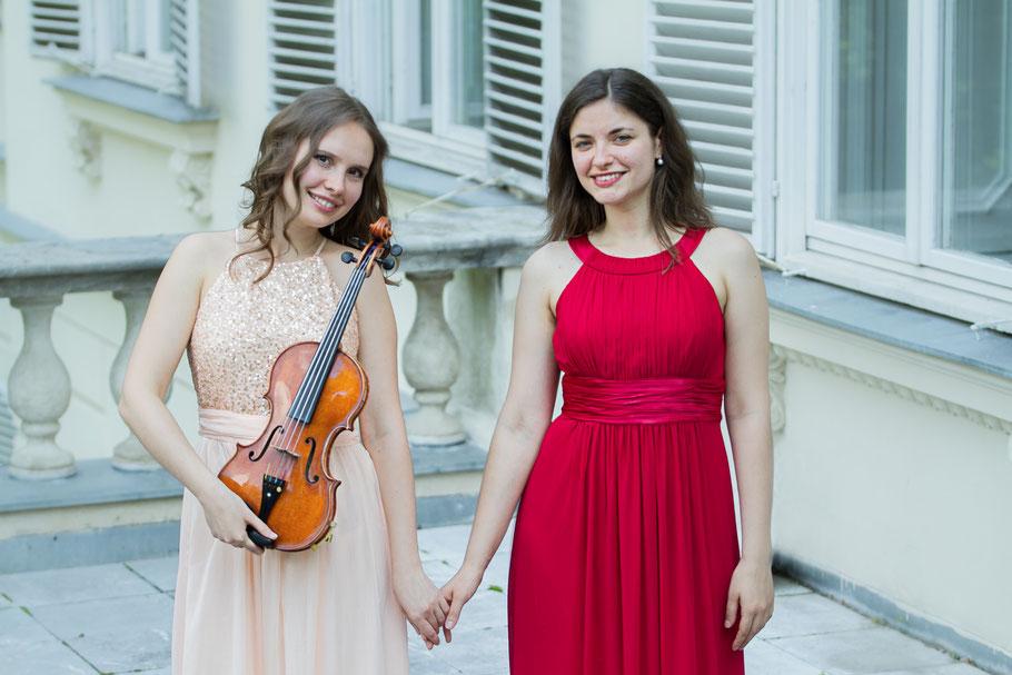 Kateryna (violin) & Anna (piano)