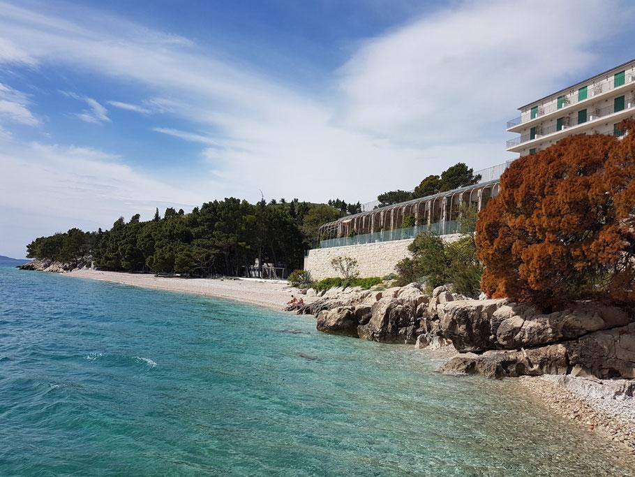 MAG Lifestyle Magazin Tučepi Tucepi Urlaub Reisen Kroatien Dalmatien Hotel Jadran Secret Places Hotels Geheimdienste Strand Makarska Riviera