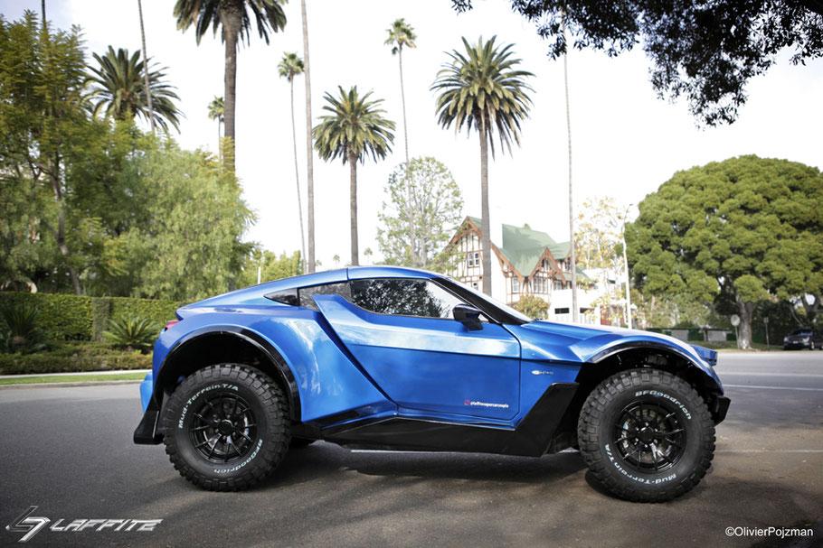 MAG Lifestyle Magazin Laffite G-Tec X-Road Supercar straßentauglicher allzweck Geländewagen Bruno Laetitia Laffite
