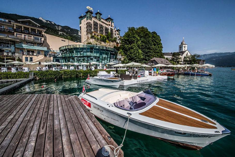 MAG Lifestyle Magazin online reisen Urlaub travel Österreich Luxus St. Wolfgang Wolfgangsee Salzkammergut event resort scalaria sunset wing Deluxe-Zimmer