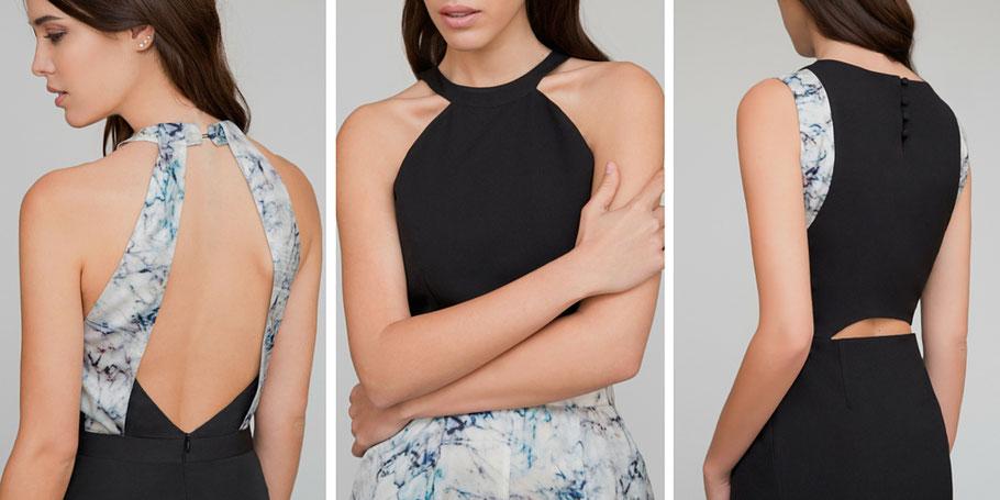 Vestidos exclusivos para invitadas que buscan algo diferente. Vestidos no convencionales, sencillos y elegantes.