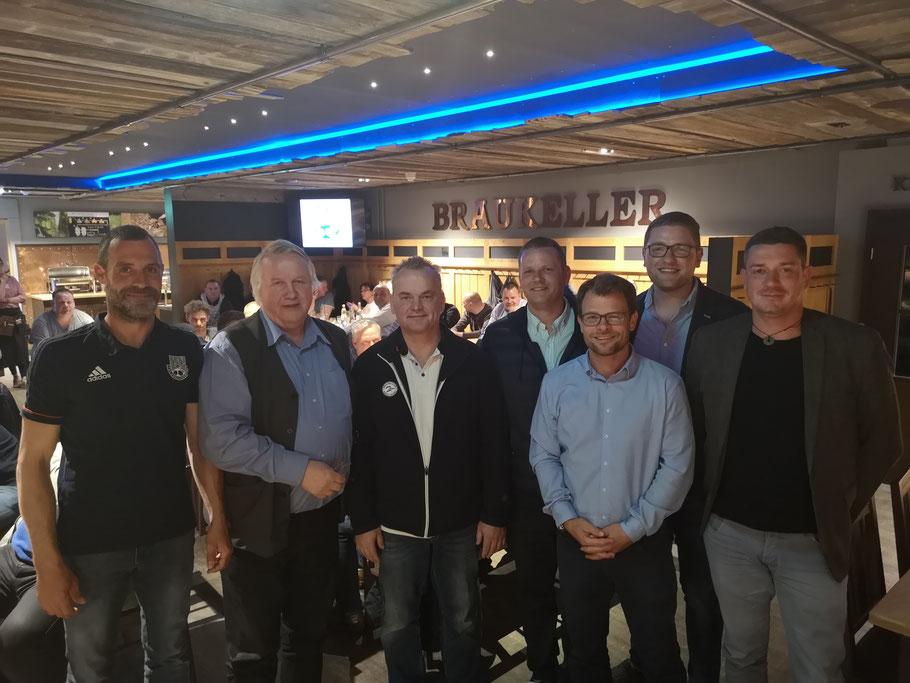 v.l.n.r.: Norman Ruß, Christian Kerber, Steffen Gülzow, Christian Mothes, Rene Schultz, Robert Schwanitz, Philipp Reimer