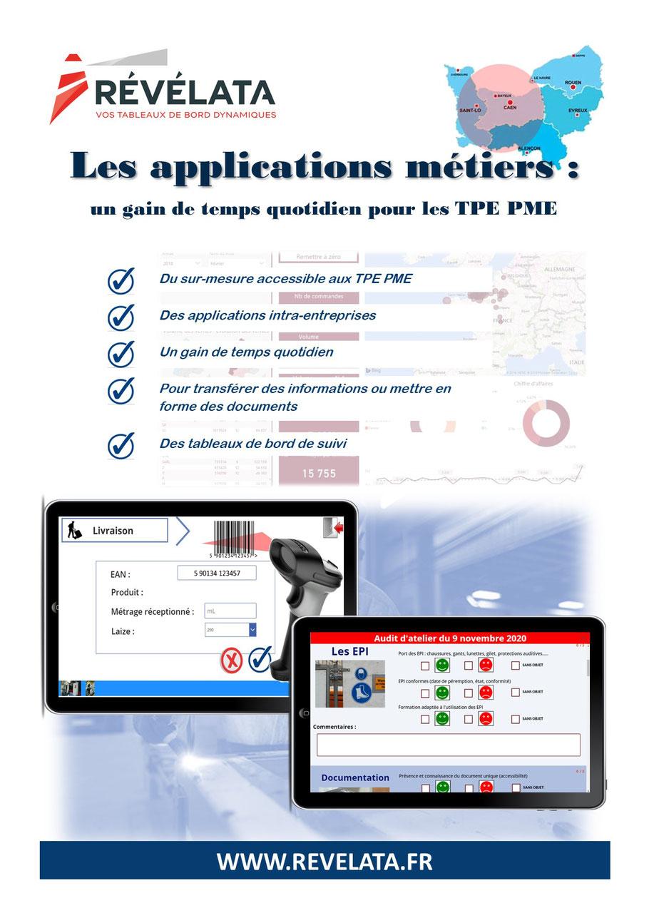 applications métiers sur mesure pour une gestion simplifiée
