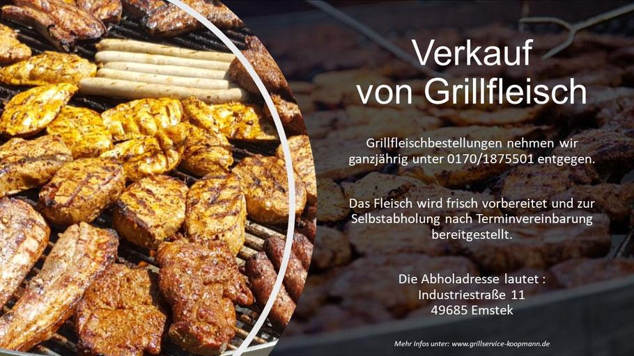 Grillfleisch, Grillservice