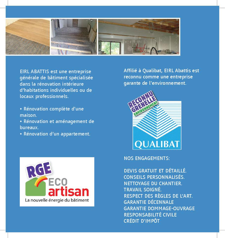 Artisan Qualifié Du Batiment artisan qualifié en travaux de rénovation - site d'abattis