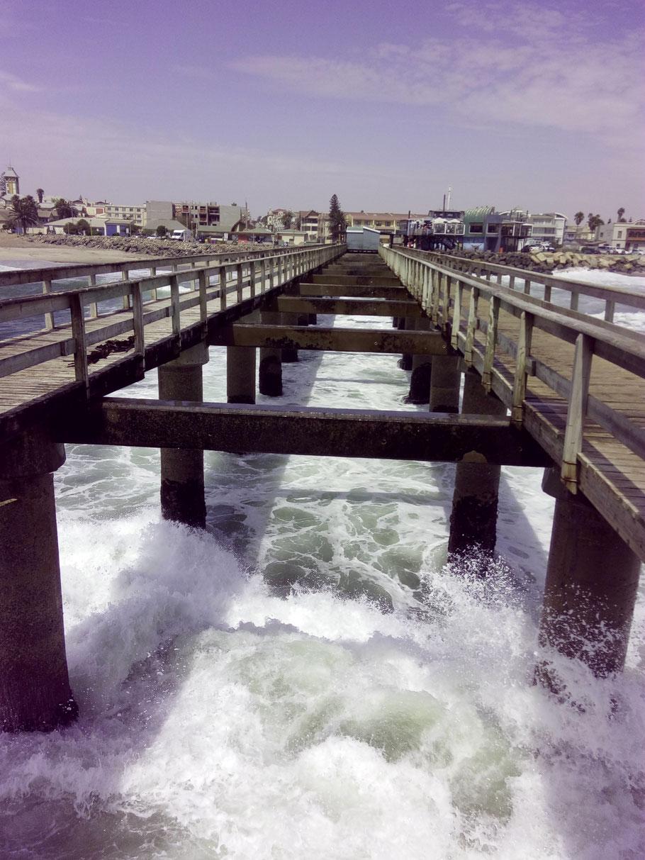 Die Seebrücke in Swakopmund