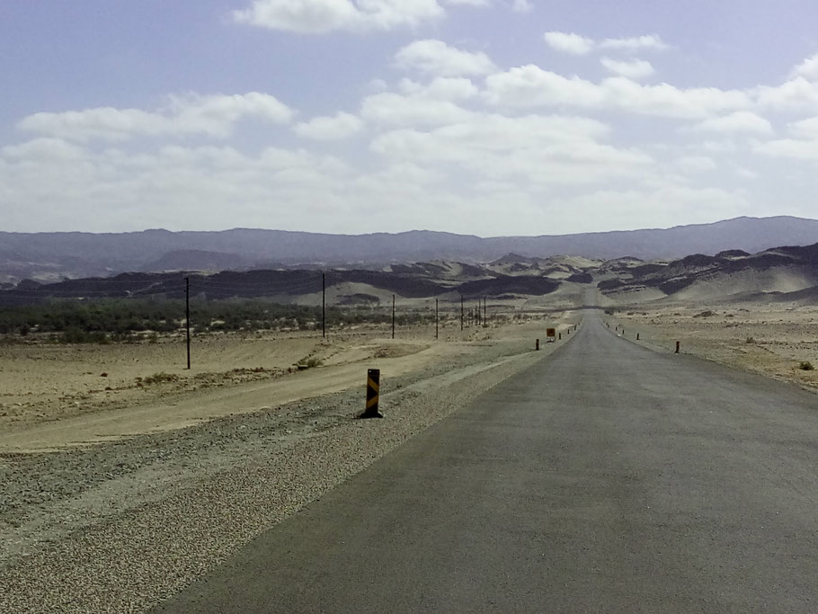 Der neue Highway nach Oranjemund