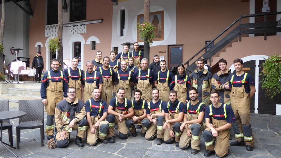 Corpo Pompieri Caslano - Angeli custodi del Cine Museo 65 di Sessa
