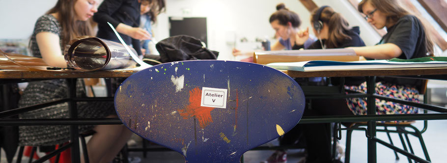 LichtwarkSchule: Talentschmiede. Atelier. Foto: Reimar Palte