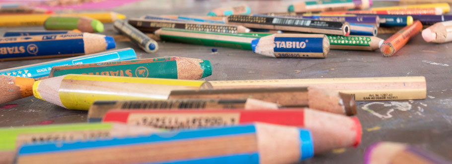 LichtwarkSchule: Spenden.Stifte. Foto: Reimar Palte