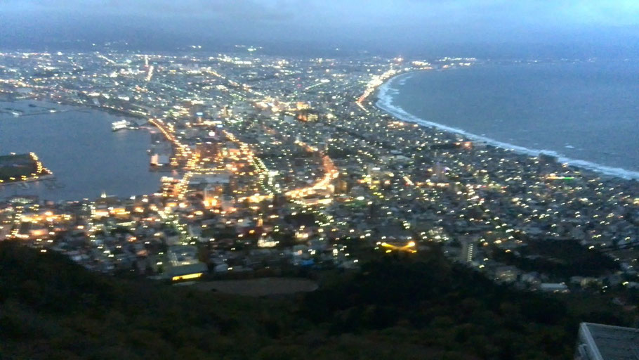 函館山から夜景