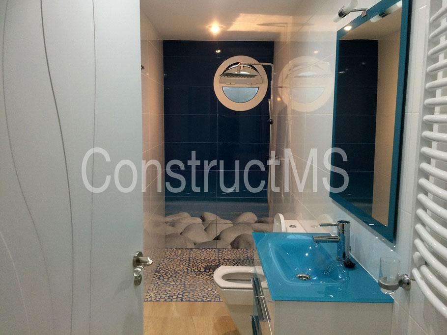 ducha baño madera barcelona reforma reformas costa brava