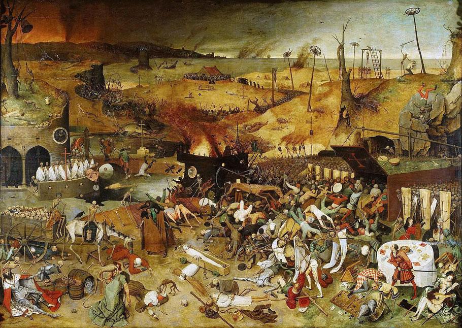"""P. Brugel, """"Il trionfo della morte"""""""