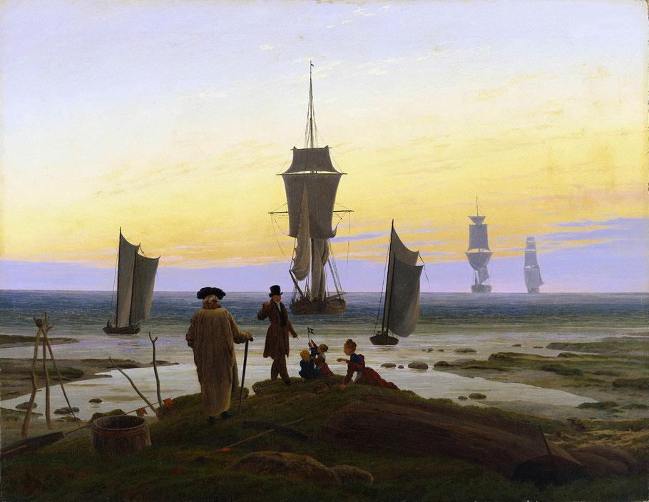 """C.D. Friedrich, """"Le tre età dell'uomo"""""""