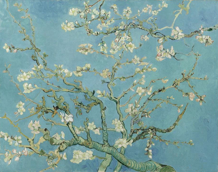 """Vincent Van Gogh, """"Ramo di mandorlo fiorito"""" (1890)"""