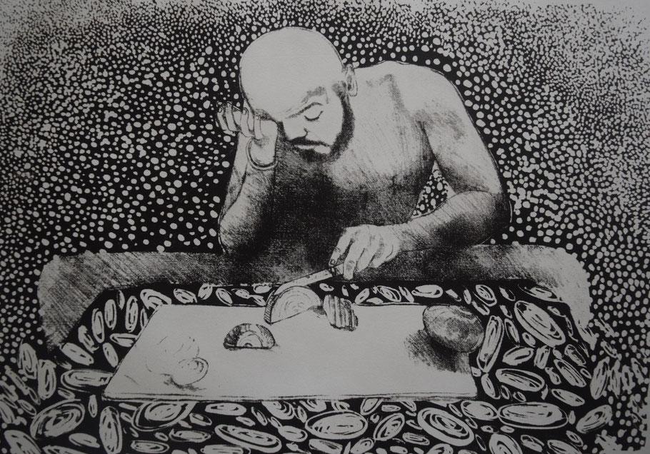"Tarun Sharma, ""Uomo, non piangere"", 2017"