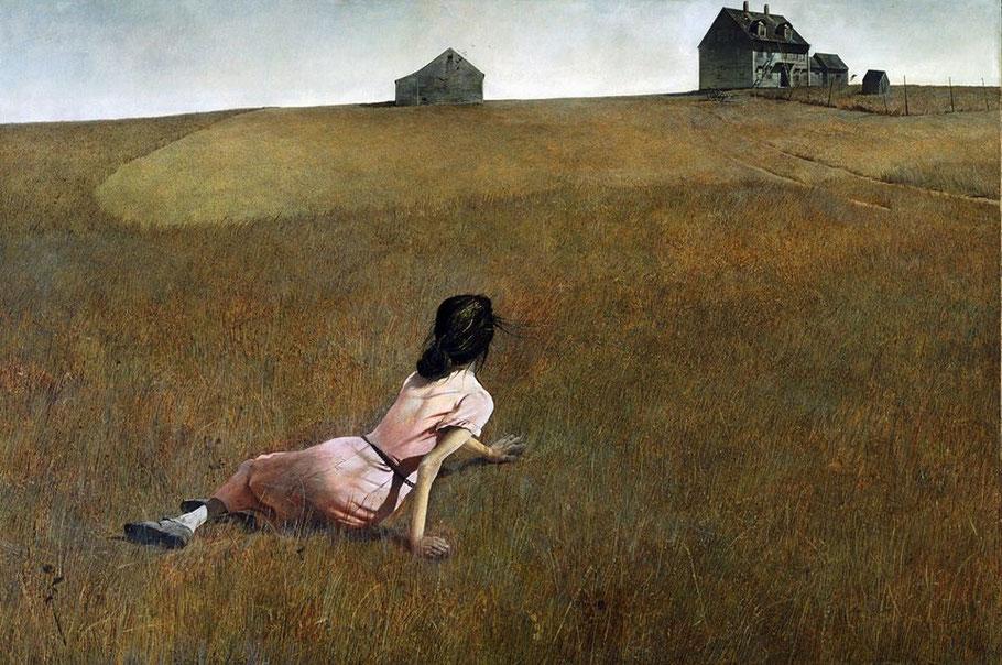 """Andrew Wyeth, """"Il mondo di Cristina"""", 1948"""
