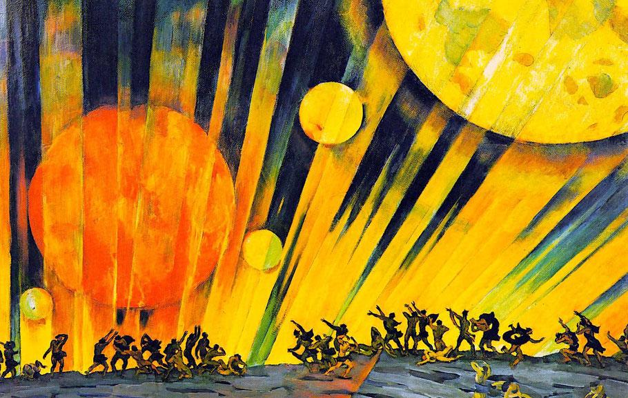 """K. Yuon, """"Nuovo pianeta"""" (1921)"""