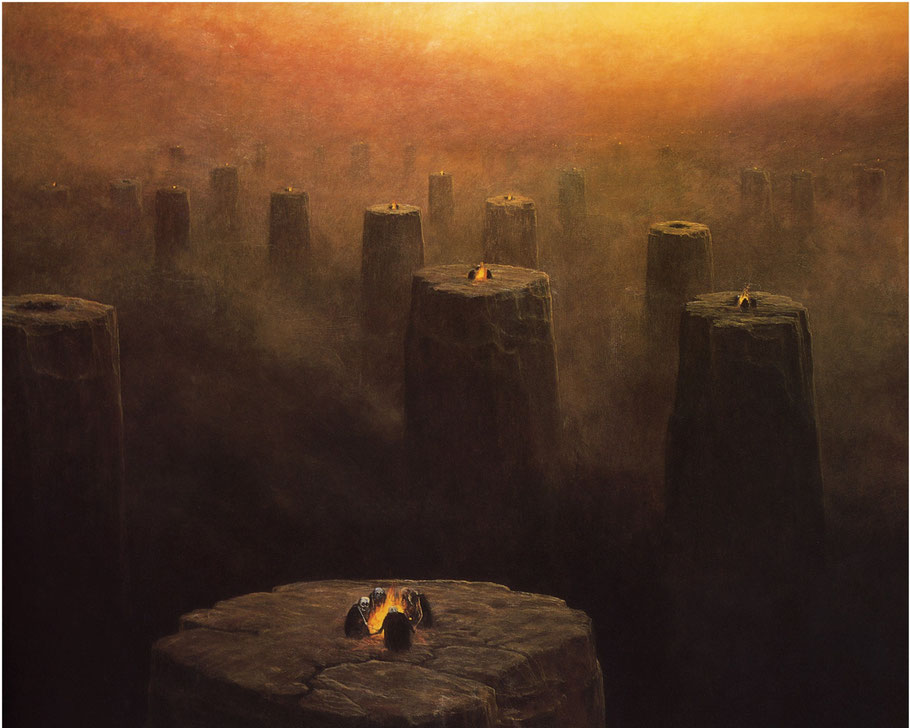 "Zdzislaw Beksinski, ""Senza titolo"" (1978)"