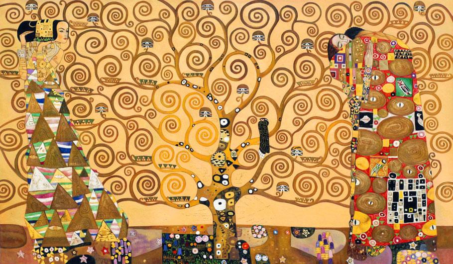"G. Klimt, ""L'albero della vita"""