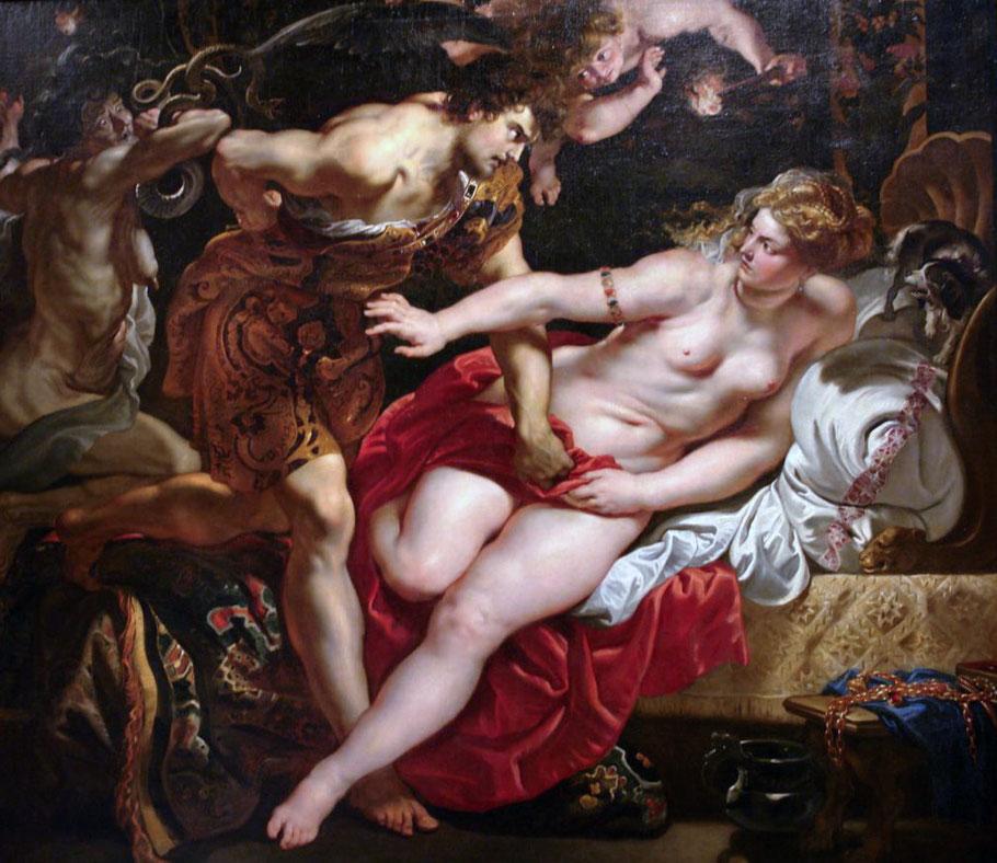 """Rubens, """"Tarquinio e Lucrezia"""" (1610)"""