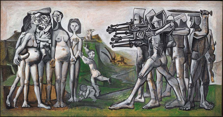 """P. Picasso, """"Massacro in Corea"""", 1951"""