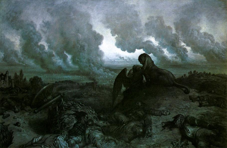"""Gustave Doré, """"L'enigma"""" (1871)"""