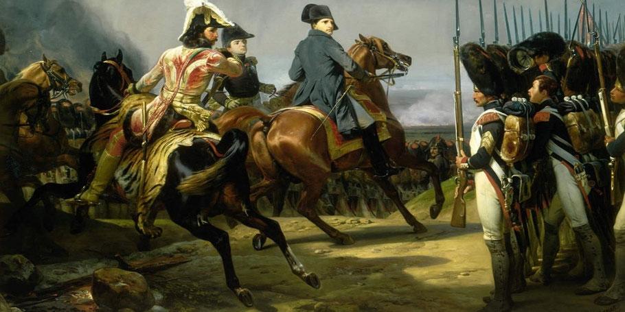 """H. Vernet, """"La battaglia di Jena"""" (1836)"""