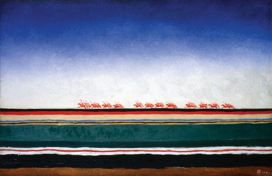 "K. Malevich, ""Cavalleria rossa"" (1928-1932)"