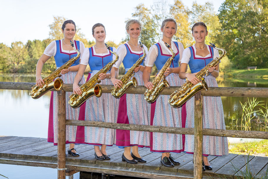 Veronika Buchner, Johanna Schröfele, Sylvia Nagl, Karoline Guggemoos, Caroline Filgertshofer