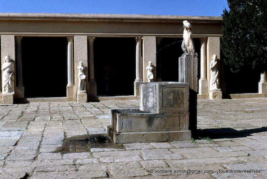 Timgad (Thamugadi) : Cour du musée (Algérie)