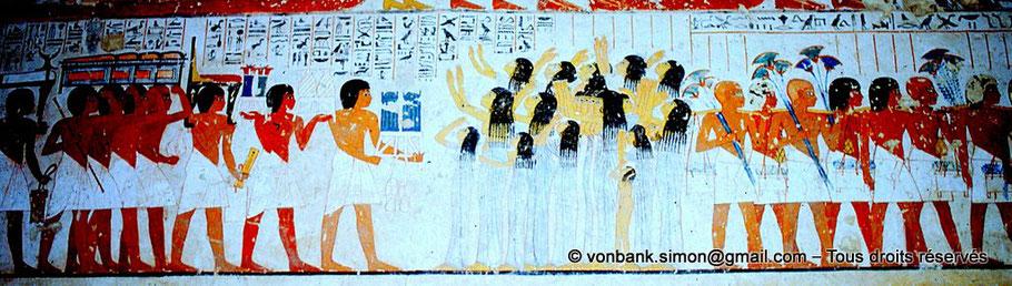 TT 55 Ramosé - Vallée des nobles - Egypte