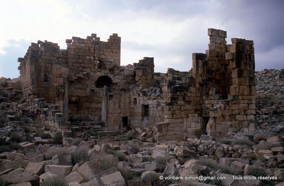 Haïdra (Ammaedara) : Église de la citadelle byzantine -Basilique III-