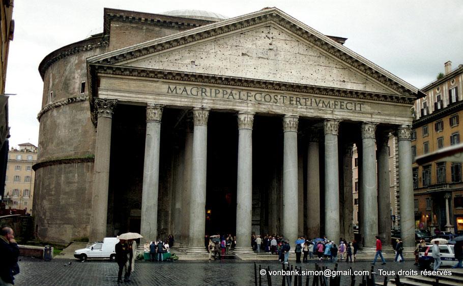 Rome - Le Panthéon - Italie - Hadrien