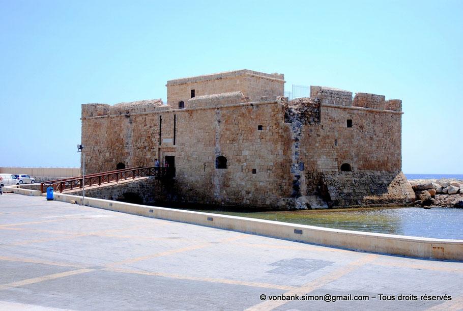 Paphos : Château fort médiéval