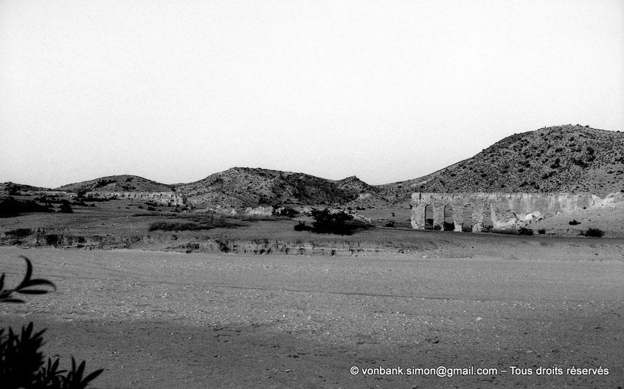 Kairouan : Aqueduc de l'oued al-Mouta
