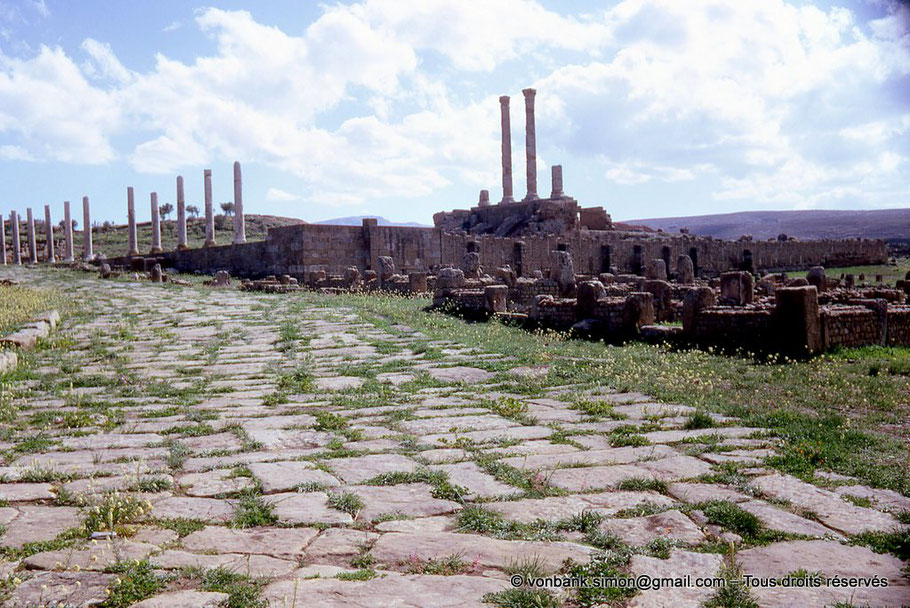 Timgad (Thamugadi) : Le Capitole (Algérie)