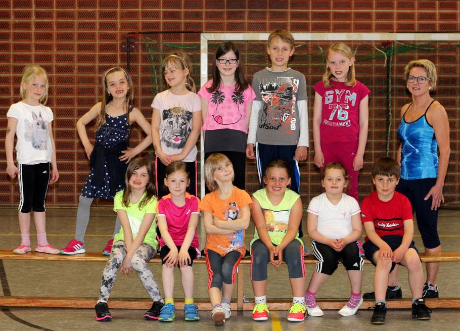 Tanzgruppe 4 - 6 Jahre