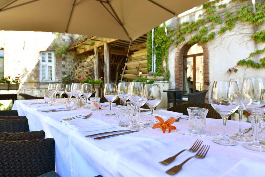 Restaurant des Moulins Banaux : une table de spécialités locales à proximité de Troyes et Sens, dans un environnement bucolique