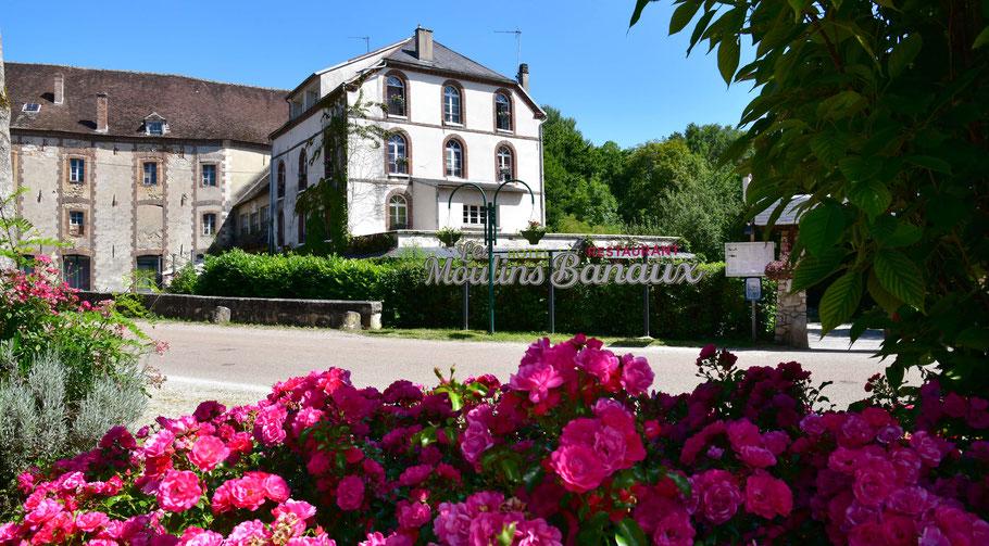 L'Auberge des Moulins Banaux, hôtel, restaurant, traiteur entre Sens et Troyes