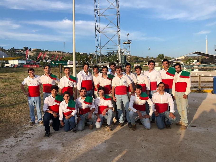 Foto de Grupo Demonstração de pegas Feira Nacional de Agricultura - Feira do Ribatejo 6 de Junho - Santarém