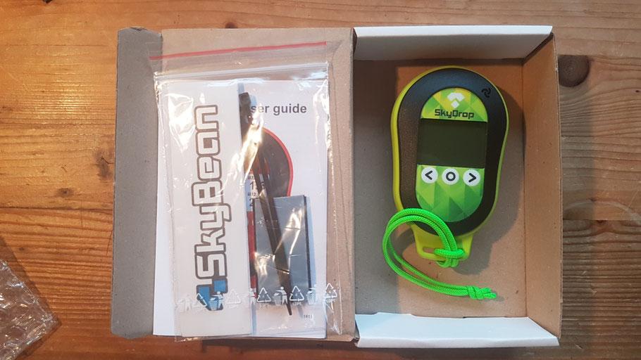 Paket enthält:  SkyDrop vario