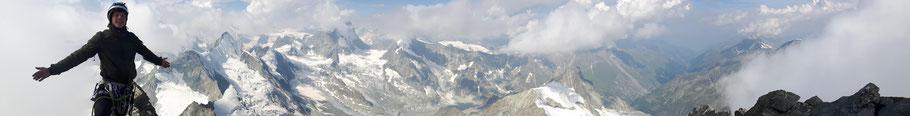 Panorama Zinalrothorn-Sebastian-4221m