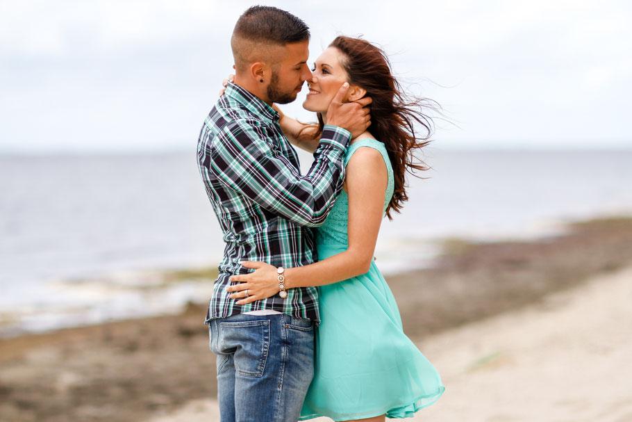 Paare| Strandshooting in Loissin| Hendrikje Richert Fotografie