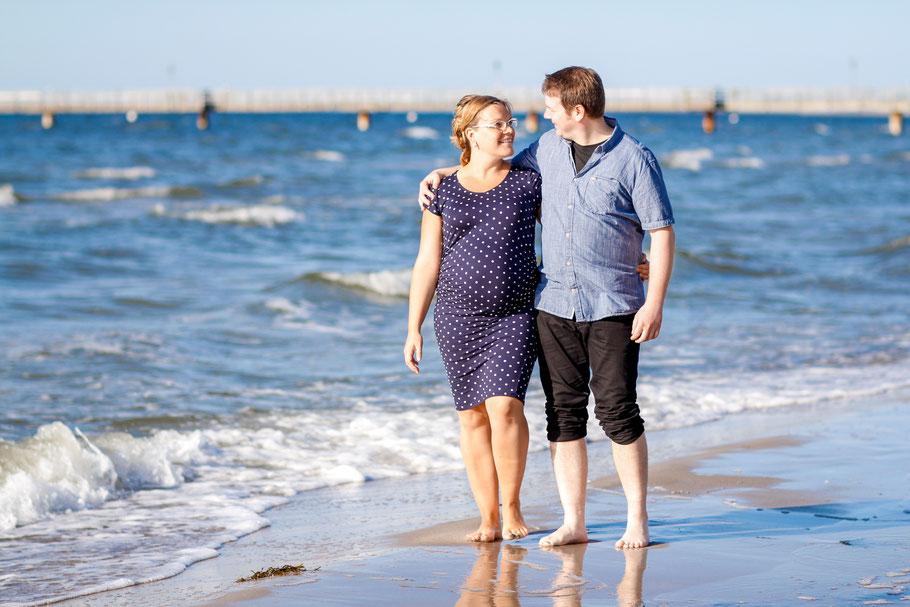 Schwangerschaft| Hendrikje Richert Fotografie| Strandshooting, Ostsee, Greifswald