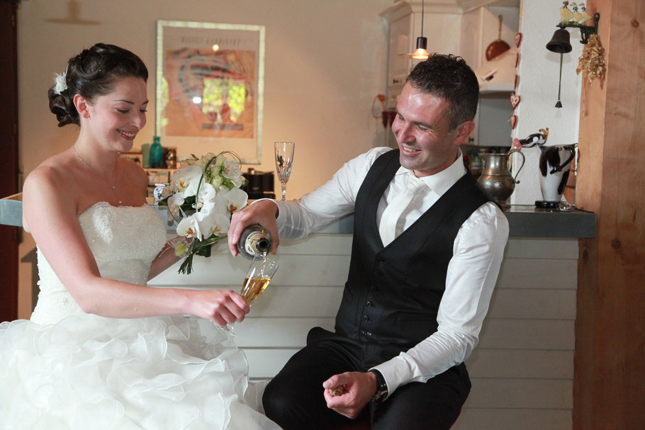 Mariage à La Bourboule